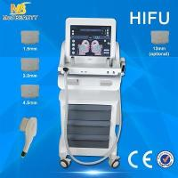 Wholesale 5 Handles HIFU Machine Wrinkle Tighten The Loose Skin No Injection from china suppliers