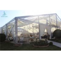 Wholesale Clear Top / Wall PVC Fabric Cover Backyard Luxury Wedding Party Tents from china suppliers