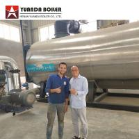 China 7000KW Industrial Three Pass Oil Thermal Oil Boiler For Textile Factory for sale