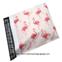 Wholesale Flamingo Cartoon Plastic Poly Mailer Envelopes Gravure Printing Moisture Proof from china suppliers