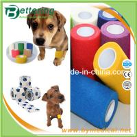 Wholesale Non woven Veterinary Bandage Pet bandage wrap cohesive elastic bandage from china suppliers
