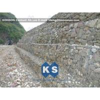 Wholesale Strong Welded Gabion Retaining Wall Stone Gabion Box For Roadway Protection from china suppliers