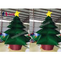 Wholesale Customized Christmas Inflatable Tree / Residential 20ft Giant Christmas Inflatables from china suppliers