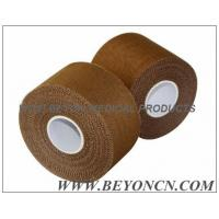 Wholesale Porous Breathable Tear by Hand Sports Strapping Tape Tan Colored Rayon Backcloth from china suppliers