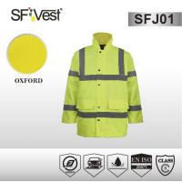 Buy cheap Workmens High Visibility Work Wear Clothing Reflective Safety Jacket Waterproof and Windbreak from wholesalers
