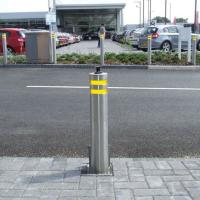 Buy cheap Hydraulic Rising Road Blockers Automatic Security Electric Trafict Lifing Bollards from wholesalers