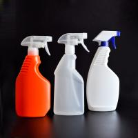 Wholesale 500ml HDPE plastic spray bottle for cleaning with reasonable price on hot sale from china suppliers