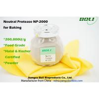 Wholesale 200000 U / g Neutral Protease For Baking ,  Food Grade Enzymes In Brewing Non - GMO from china suppliers