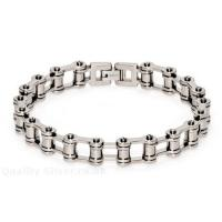 Wholesale Fashion men Stainless Steel Motorcycle / bicycle jewelry Chain Bracelets for Anniversary  from china suppliers