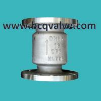 Wholesale vertical type JIS/KS STANDARD SPRING LOADED LIFT CHECK VALVE from china suppliers