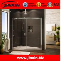 Quality High quality product tempered glass bathtub frameless shower doors for sale