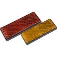 Wholesale Safety Warning Pmma Trailer Reflectors Square Shape Red Yellow Color from china suppliers