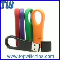 Wholesale Metal Colorful Big Ring 8GB Usb Flash Drives with Free Custom Logo from china suppliers