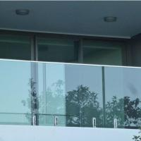 Wholesale Modern High Quality Outdoor Stainless Steel Glass Balcony Railing Design from china suppliers