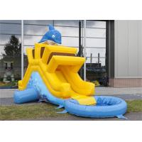 Wholesale Mini Inflatable Water Slide , Inflatable Water Jumping Castles Slide For Kids from china suppliers