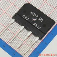 Wholesale 25A 1000V diode bridge rectifier gbj2510 from china suppliers