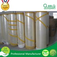 Quality High Strength Acrylic Opp Packing Bopp Jumbo Roll Tape With 36-56 Mic , 4000m X 1280mm for sale