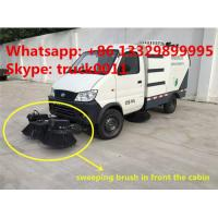 China factory direct sale best price CLW brand eletronic sweeper truck, hot sale CLW brand electronic street sweeping vehicle for sale
