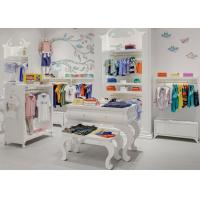 Kids Shop Display Furniture / Retail Apparel Fixtures Lovely Elegant Style
