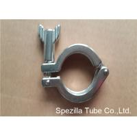 Wholesale TP304 ASTM A270 Sanitary Valves And Fittings Stainless Steel Single Pin Heavy Duty Clamp from china suppliers