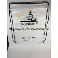Wholesale Drawstring Frosted Recycled Plastic Backpack Eco - Friendly Water Proof from china suppliers