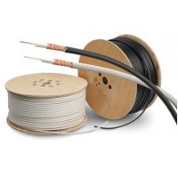 China PVC Sheath Copper Coaxial Cable RG59/U Type Cctv Coaxial Cable PE Dielectric on sale