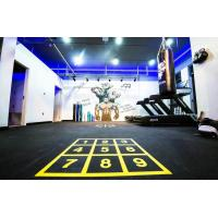 China Eco Friendly Rubber Gym Mats Anti Pressure Custom Color 400x400x20mm on sale
