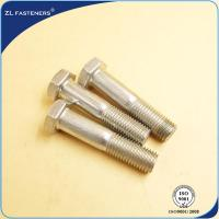 China Customized Length Stainless Steel Hex Bolts Grade 8.8 For Automotive Fasteners on sale