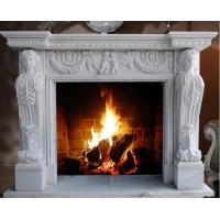 Wholesale European Style Hot Sale Natural Indoor Cheap Marble Fireplace from china suppliers