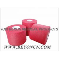 Wholesale No Adhesive Colored Breathable Porous Foam Underwrap Sports Pre Tape Red Athletic Tape from china suppliers