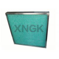 Wholesale Fiberglass Painting Spray Booth Filter High Temperature SUS Frame 80-90% Arrestance from china suppliers
