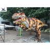 Giant Lifelike Animatronic Outdoor Dinosaur Foreleg Movement / Simulation Roar for sale