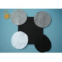 Wholesale Black Needle Punched Felt Anti-slip Nonwoven Fabric With PVC Dots from china suppliers
