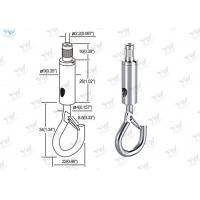 Wholesale Lighting Products Aircraft Cable Fixture Hangers Self - Gripping Hook Safety Lock from china suppliers