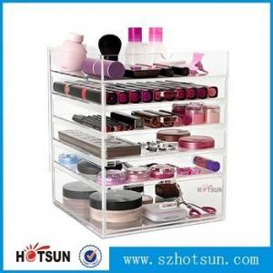 Wholesale Acrylic cosmetic makeup organizer/ makeup brush display/ makeup brush holder,Fashion acrylic Design Makeup Organizer from china suppliers