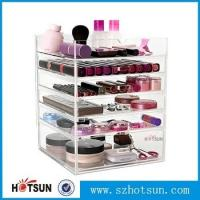 Wholesale Acrylic cosmetic makeup organizer/ makeup brush display/ makeup brush holder,Fashion acrylic Design Makeup Organizer from china suppliers