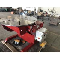 Buy cheap Welding Rotating Table 1 Tonne Welding Positioners Remote Hand Control Box from Wholesalers