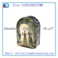Wholesale chocolate packing tin box/gift tin box from china suppliers