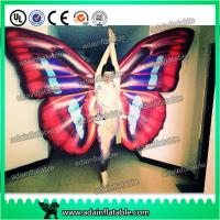 Wholesale Custom Inflatable Cartoon Characters , Digital Printing Inflatable Butterfly Wing Model from china suppliers