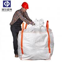 China Laminated Fibc Bulk Pp Container Bag Closed Bottom Open Top UV Treated for sale