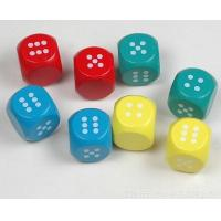Wholesale 20mm wood dice colored game dice kids toy dice wholesale wood dice from china suppliers
