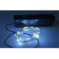 Outdoor Battery Operated Led String Lights , 20 Warm White Led Color of item 104226049