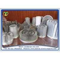 Cold Forging Heat Sinks And Radiator machining aluminum For LED Lamp / Car / Computer