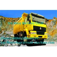 Wholesale Heavy Duty Dump Truck / Diesel 6 x 4 Dump Truck Yellow 336 Horsepower Manual from china suppliers