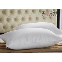 Hotel Comfort Pillows 45x70cm And 1100G White Color With Water Absorption