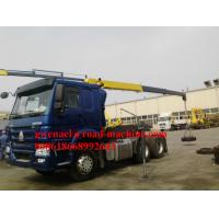 Wholesale 43KW 4T Pickup Boom Truck Crane 240L Trailer Mounted Crane from china suppliers