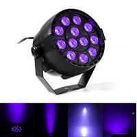 Wholesale IP33 Voice-control Violet Led Disco Lights with Black + Transparent Cover from china suppliers
