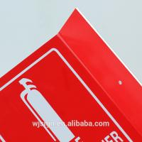 Wholesale PVC Directional Fire Safety Warning Signs Luminous Stand Fire Extinguisher Sign from china suppliers