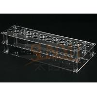 Quality Customized Clear Acrylic Makeup Display Stand Lipstick Display Holder for sale