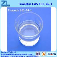 Buy cheap 64.0 G/L Fine Chemical 99.5%min Triacetin(Glycerol triacetate) CAS 102-76-1 from wholesalers